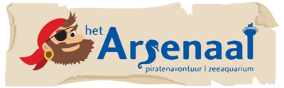 Het Arsenaal | Piratenavontuur & Zeeaquarium Logo